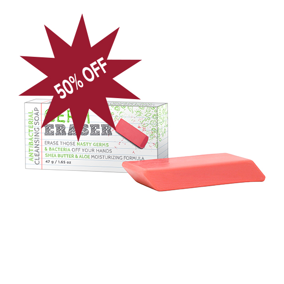 Germ Eraser Anti-bacterial Cleanser Soap